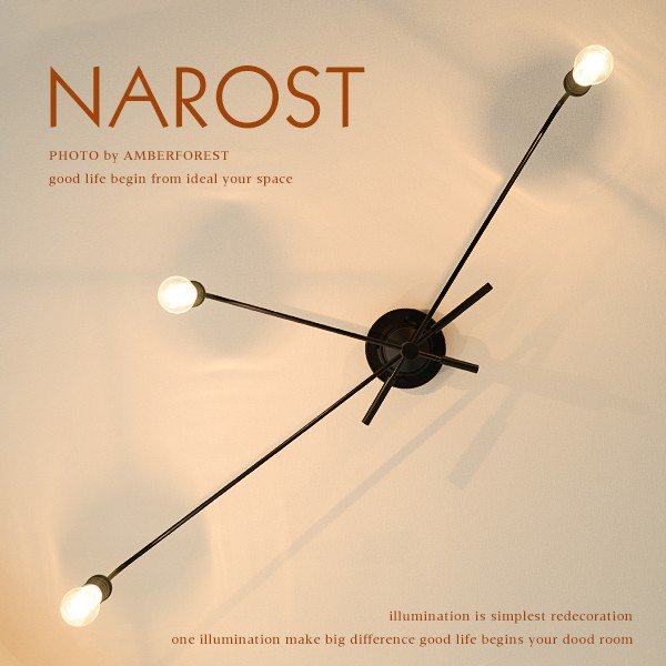 NAROST ナロスト [LT-1651 LT-1653 LT-1654] INTERFORM インターフォルム