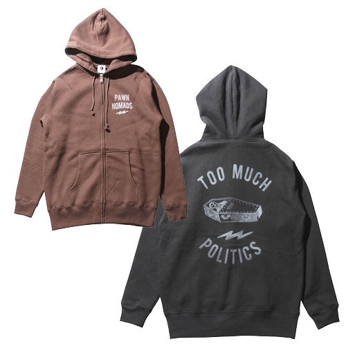 PAWN COFFIN ZIP HOODIE<img class='new_mark_img2' src='//img.shop-pro.jp/img/new/icons14.gif' style='border:none;display:inline;margin:0px;padding:0px;width:auto;' />