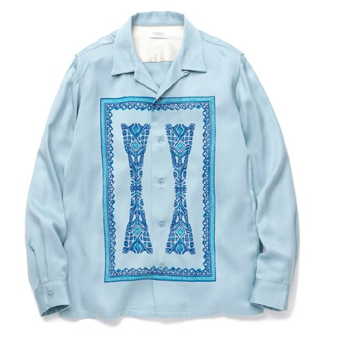 POLYNESIAN &#8211; OPEN COLLARED SHIRT L/S RADIALL<img class='new_mark_img2' src='//img.shop-pro.jp/img/new/icons20.gif' style='border:none;display:inline;margin:0px;padding:0px;width:auto;' />
