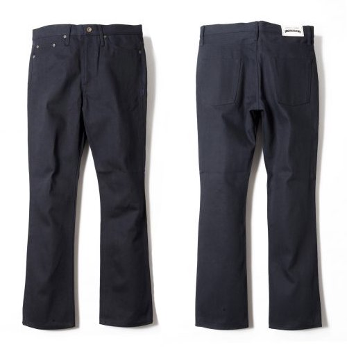 ANASOLULE / Rigid-Denim PT (BLACK / ONE-WASH)<img class='new_mark_img2' src='//img.shop-pro.jp/img/new/icons55.gif' style='border:none;display:inline;margin:0px;padding:0px;width:auto;' />