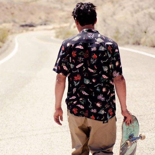 【GLOBE】Psychotropics shirt
