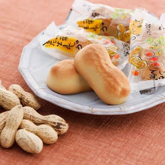 「ピーナツ饅頭」の画像検索結果