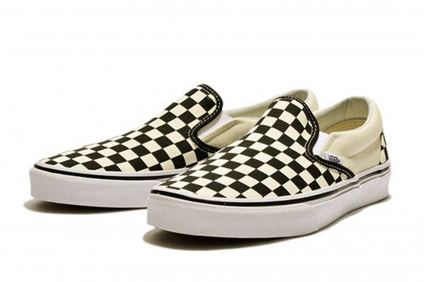 SLIP ON* BLK/WHT CHK/WHT (Safari6月号掲載商品)