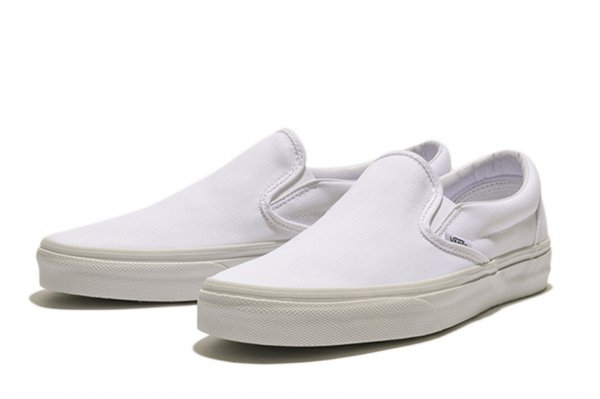 SLIP ON* TRUE WHITE