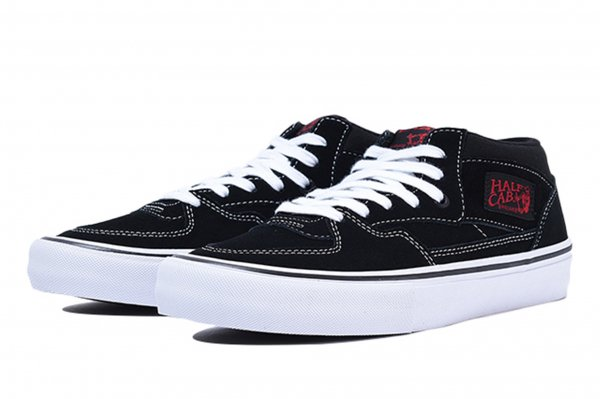 HALF CAB PRO BLACK/WHITE/RED