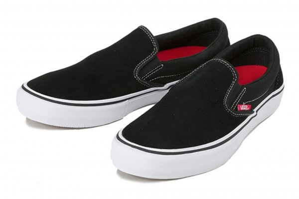 SLIP-ON PRO BLACK/WHITE/GUM