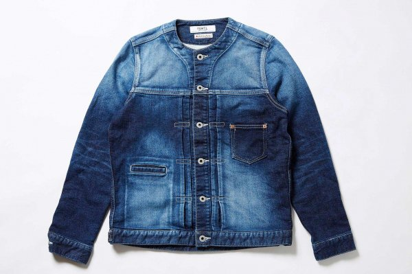 COLORLESS STRECH DENIM JACKET 2YR WA