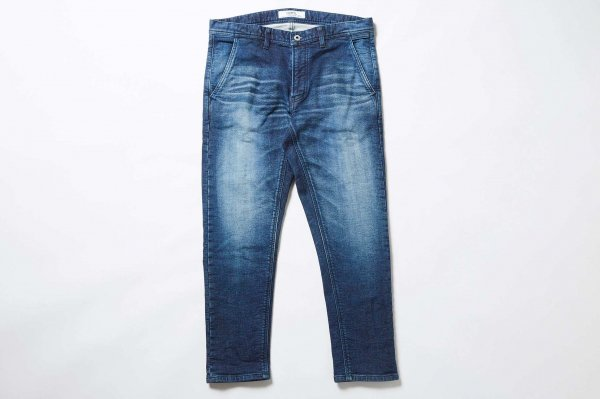 CROPPED BORO STRETCH DENIM 1YR WASH