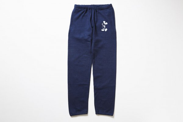Micky -sweat pants INDIGO-<img class='new_mark_img2' src='//img.shop-pro.jp/img/new/icons38.gif' style='border:none;display:inline;margin:0px;padding:0px;width:auto;' />