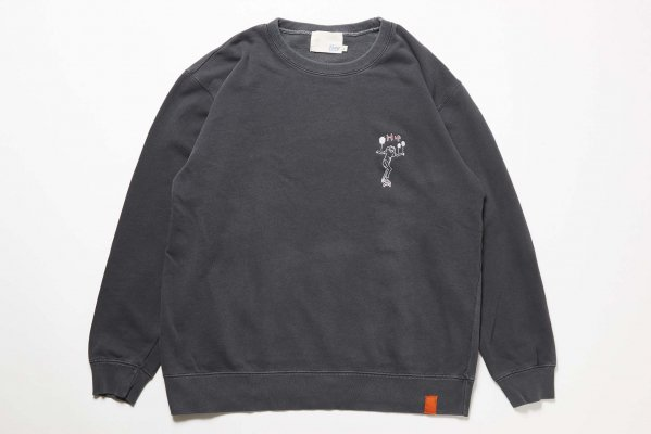 Pigment crew fleece(HIP)<img class='new_mark_img2' src='//img.shop-pro.jp/img/new/icons38.gif' style='border:none;display:inline;margin:0px;padding:0px;width:auto;' />