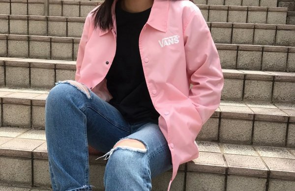 Flying-V Coach Jacket <PINK ATTACK>