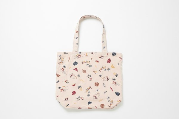 ALOHA Over Tote BAG <PINK ATTACK>