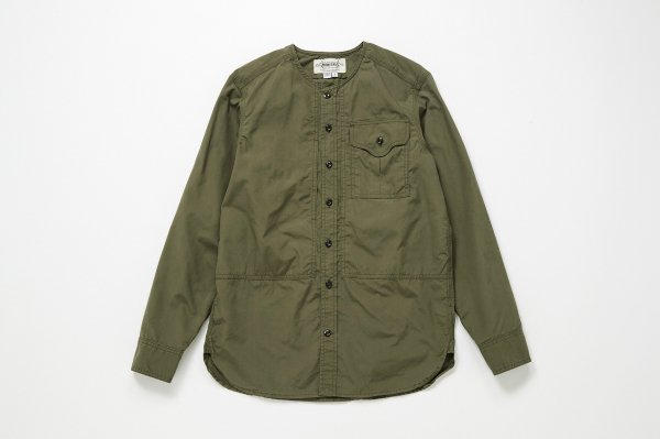 L/S CREW NECK FIELD SHIRT