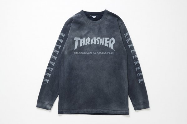 THRASHER SK8 MAG Long Sleeve Tee
