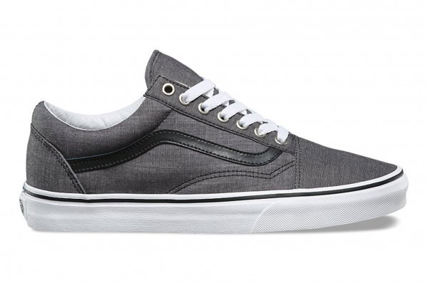 OLD SKOOL (C&L) CHAMBRAY/BLACK<img class='new_mark_img2' src='//img.shop-pro.jp/img/new/icons32.gif' style='border:none;display:inline;margin:0px;padding:0px;width:auto;' />