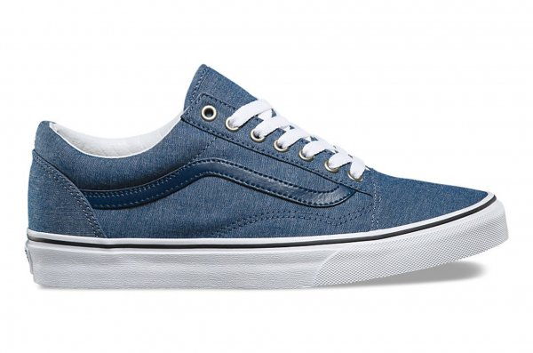 OLD SKOOL (C&L) CHAMBRAY/BLUE<img class='new_mark_img2' src='//img.shop-pro.jp/img/new/icons32.gif' style='border:none;display:inline;margin:0px;padding:0px;width:auto;' />