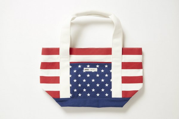 CANVAS US FLAG TOTE