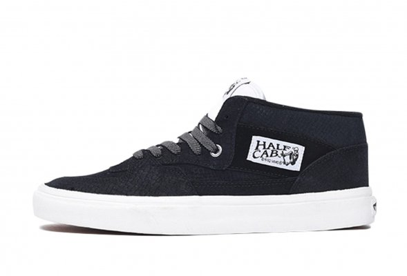 HALF CAB (SNAKE) BLACK/BLANC<img class='new_mark_img2' src='//img.shop-pro.jp/img/new/icons32.gif' style='border:none;display:inline;margin:0px;padding:0px;width:auto;' />