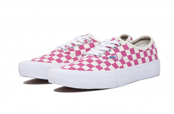 AUTHENTIC PRO (CHECKERBOARD) FUCHSIA