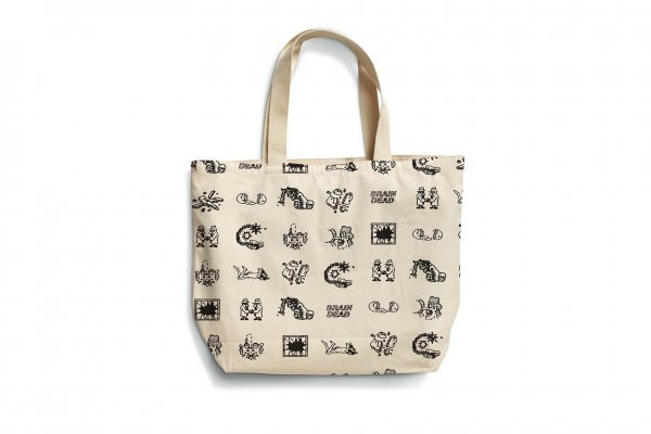 BRAINDEAD TOTE NATURAL