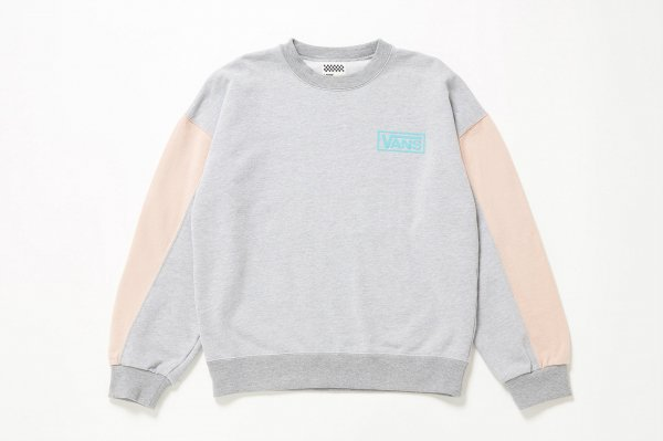 Design Seam Sleeve Sweat