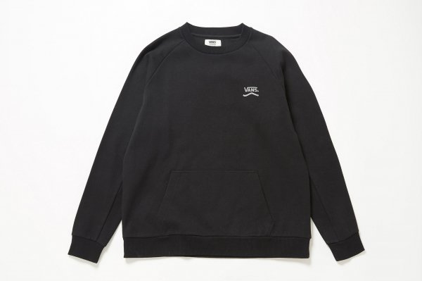 Corrugated-Knit Crew
