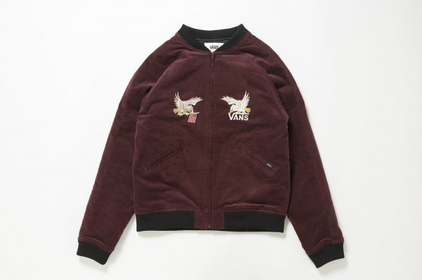 Eagle Embroideried Velvetten Jacket