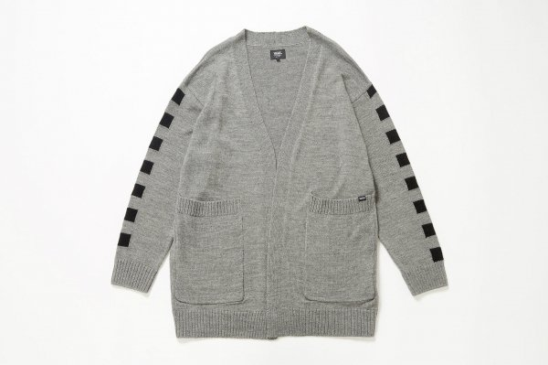 Checker Big Cardigan ≪Knit≫