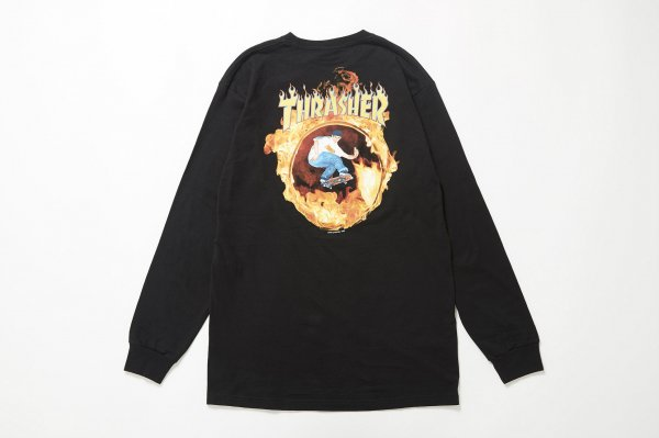 THRASHER CARDIEL LS BLACK