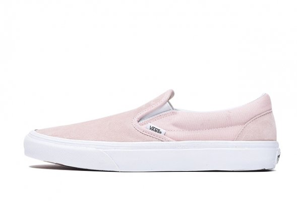 CLASSIC SLIP-ON (SUEDE) SEPIA ROSE<img class='new_mark_img2' src='//img.shop-pro.jp/img/new/icons32.gif' style='border:none;display:inline;margin:0px;padding:0px;width:auto;' />