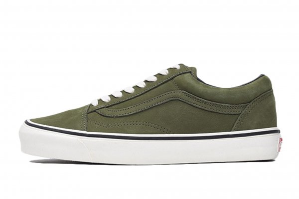 OG OLD SKOOL LX (NUBUCK) WINTER MOSS