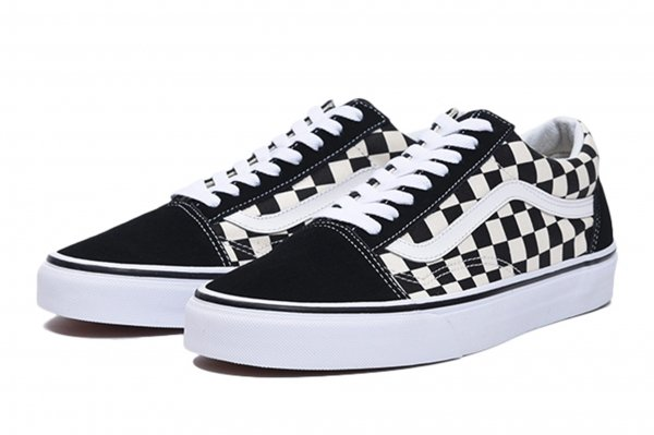 OLD SKOOL (PRIMARY CHECK)BLACK/WHIT