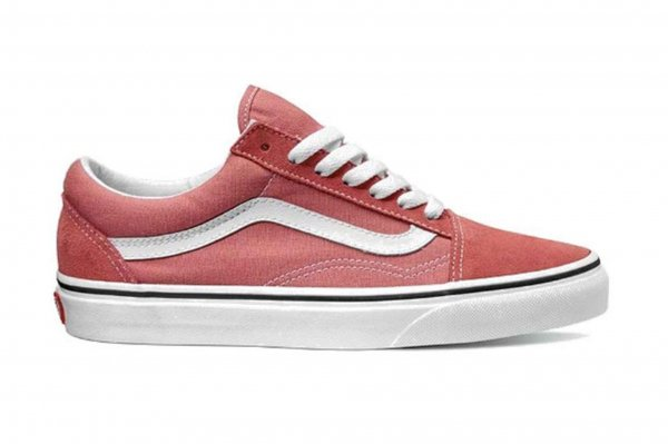 OLD SKOOL FADED ROSE/TRUE WHITE