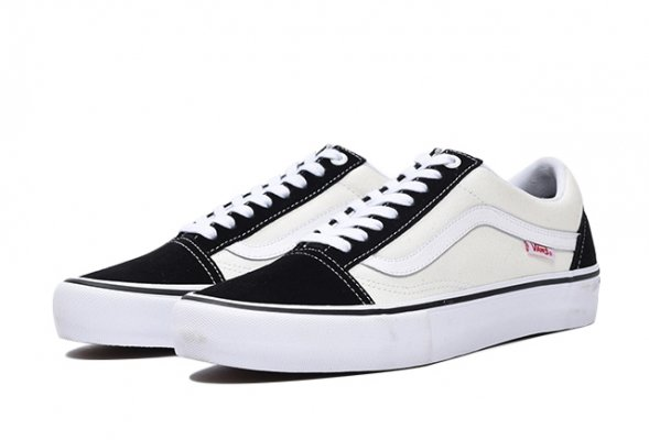 OLD SKOOL PRO BLACK/WHITE/WHITE