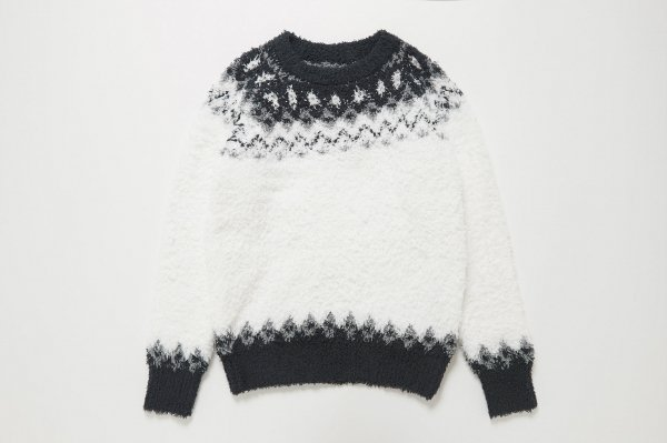 Patterned Pullover Knit