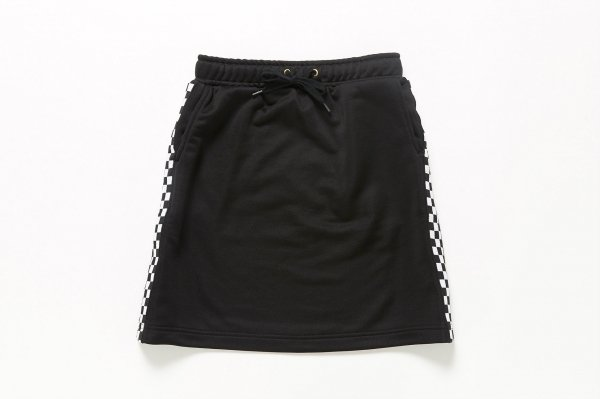 SIDE CHECHER LINE SKIRT