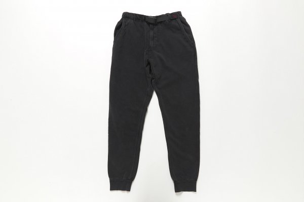 SWEAT NARROW RIB PANTS