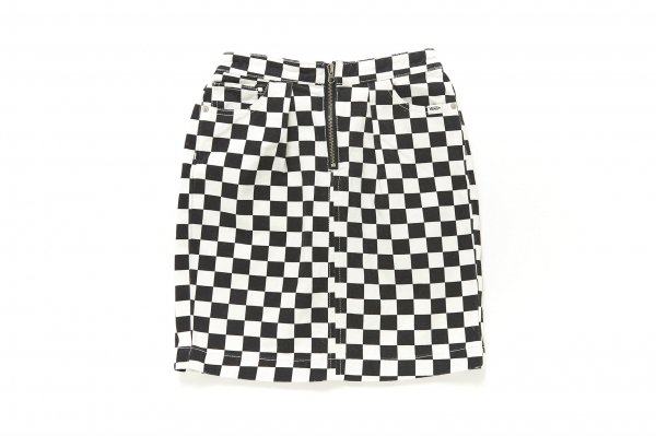 Girls Checker Skirt (CHECKERBOARDATTACK)