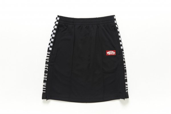 Girls Checker Sport Track Skirt