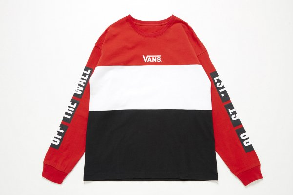 Girls Color Block L/S T-Shirt