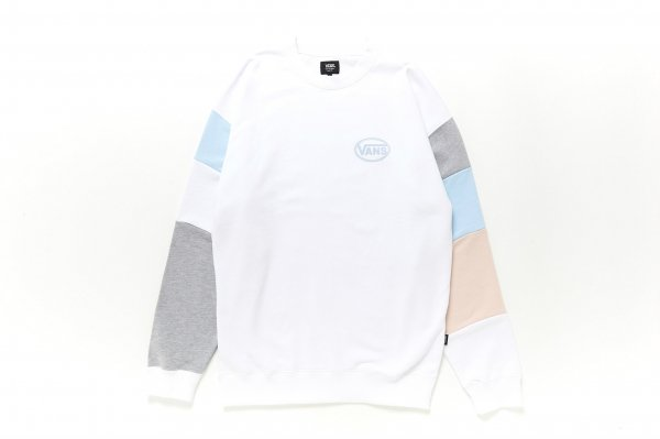 Color Block Crew Sweat
