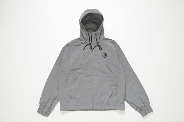 Reflector Fabric Hooded Jacket