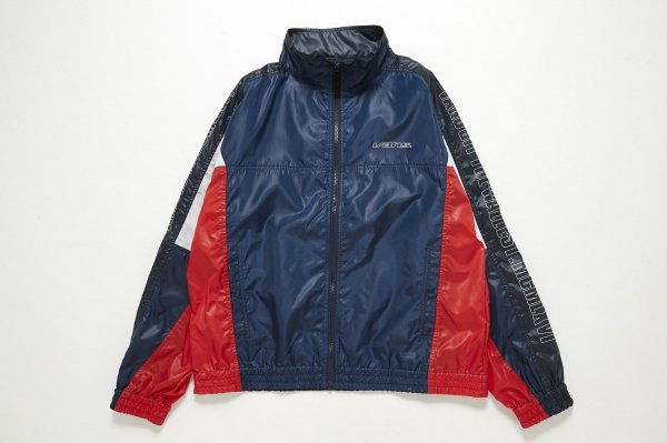 Color Block Stand Collar Jacket(Safari5月号掲載商品)