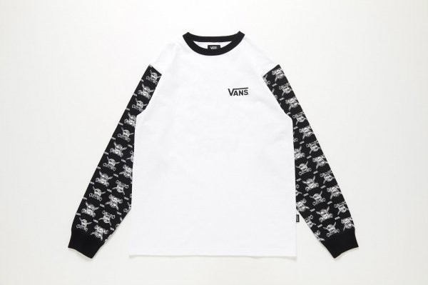Pirate All Over Sleeve L/S T-Shirt