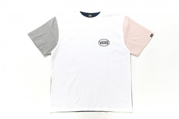 Color Block S/S T-Shirt(Safari4月号掲載商品)