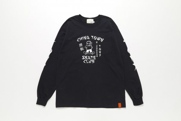 TONY SKATE CLUB LS TEE