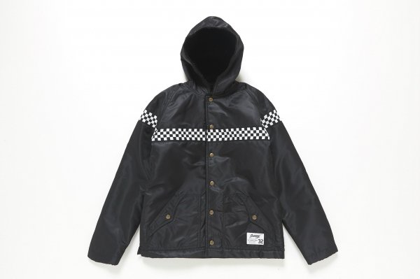 17SCS-AW-CHECKER NYLON BOA JKT