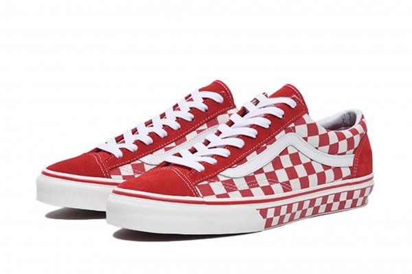 STYLE 36 (Checkerboard) racing red/n