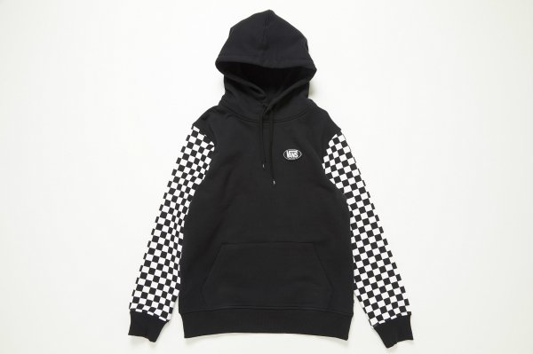 AP CHECKER OUT FLC HOOD BLACK/CHECK (CHECKERBOARDATTACK)