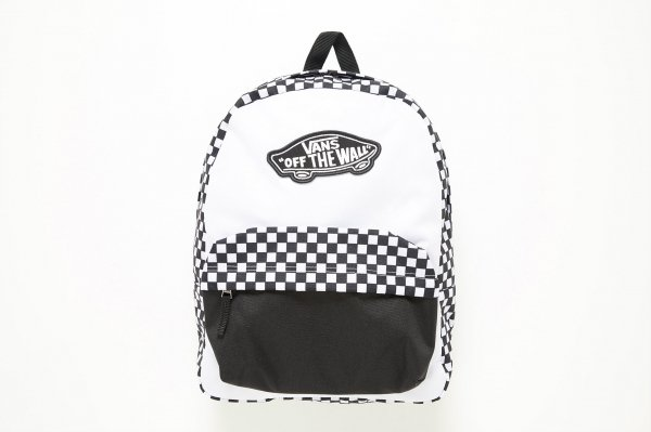 REALM BACKPACK BLACK-WHITE CHECKERBO (CHECKERBOARDATTACK)